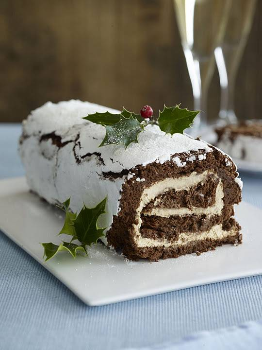 Douwe Egberts Coffee Yule Log For Christmas: How To