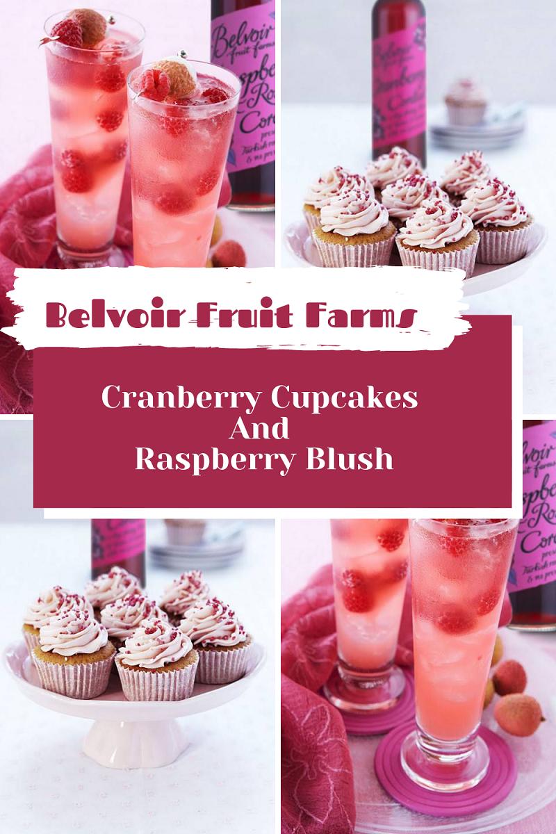 Belvoir Fruit Farms Cranberry Cupcakes