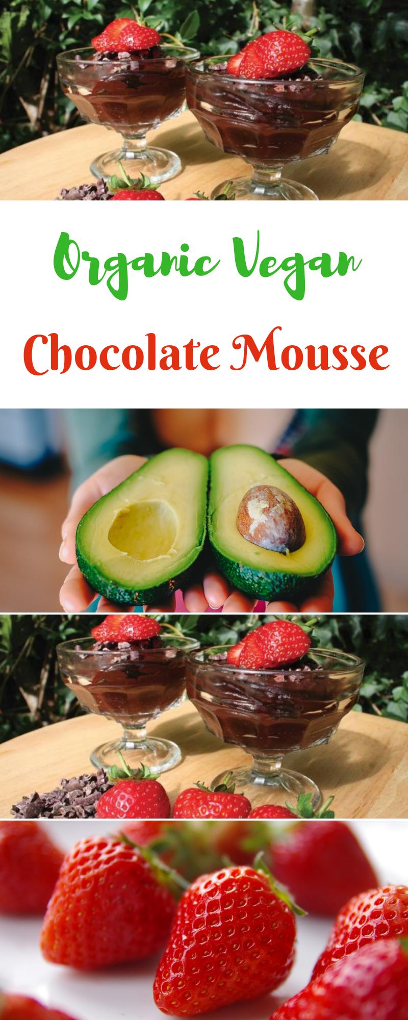 Organic Vegan Chocolate Mousse