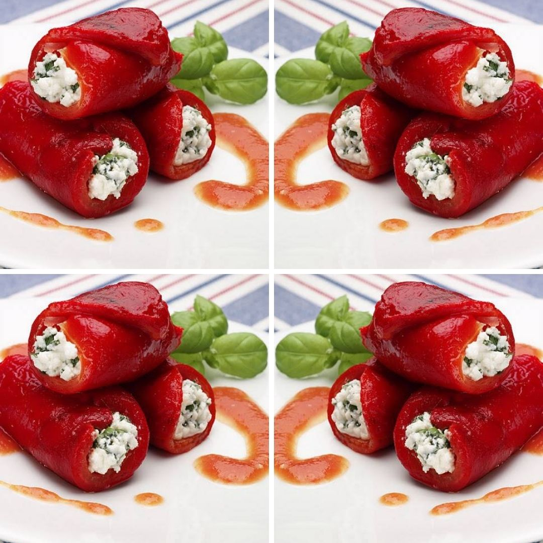 Stuffed Peppers With Ricotta And Basil Recipe To Try Out