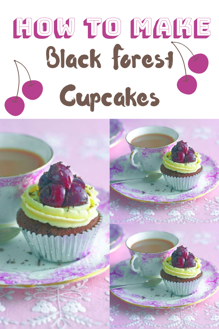 Black Forest Cupcakes: Posh 70's Cakes