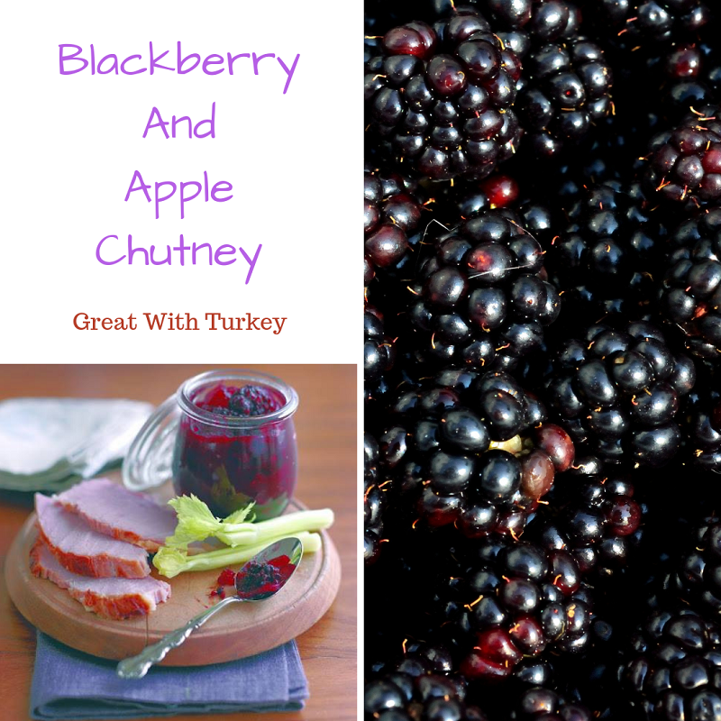 Blackberry And Apple Chutney: Great With Turkey
