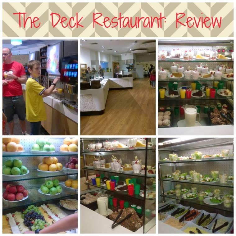 The Deck Restaurant: Butlins Bognor Regis Review