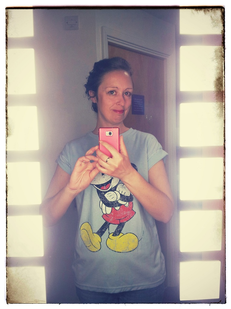 Never To Old For A Mickey Mouse T-shirt 1