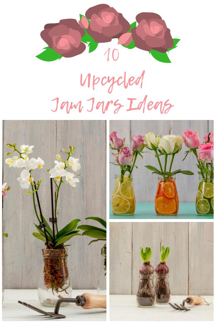 10 Upcycled Jam Jars Ideas: