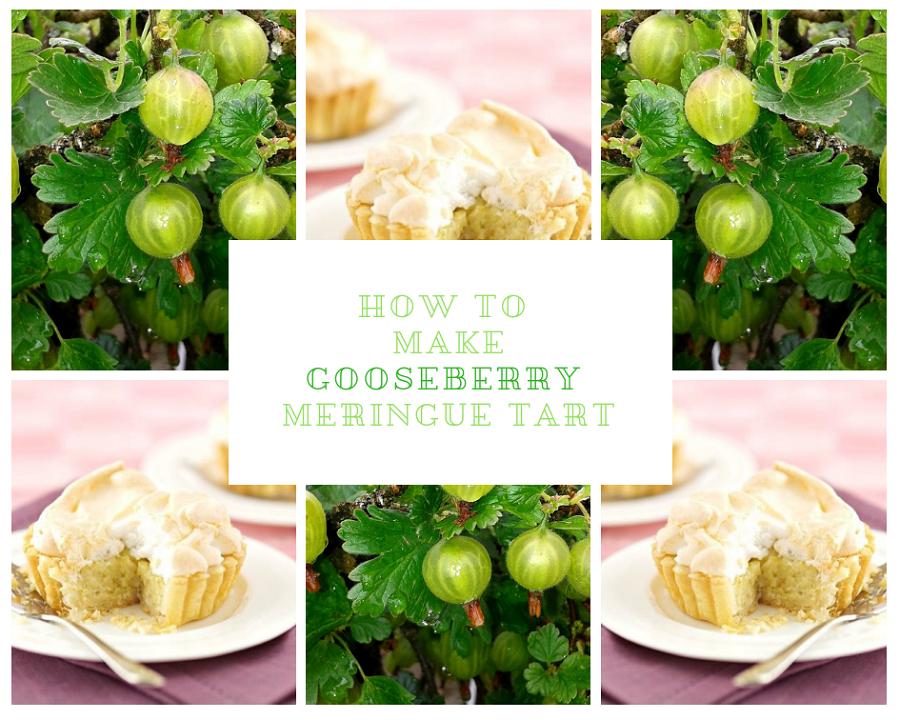 Gooseberry Meringue Tart And Childhood Memories