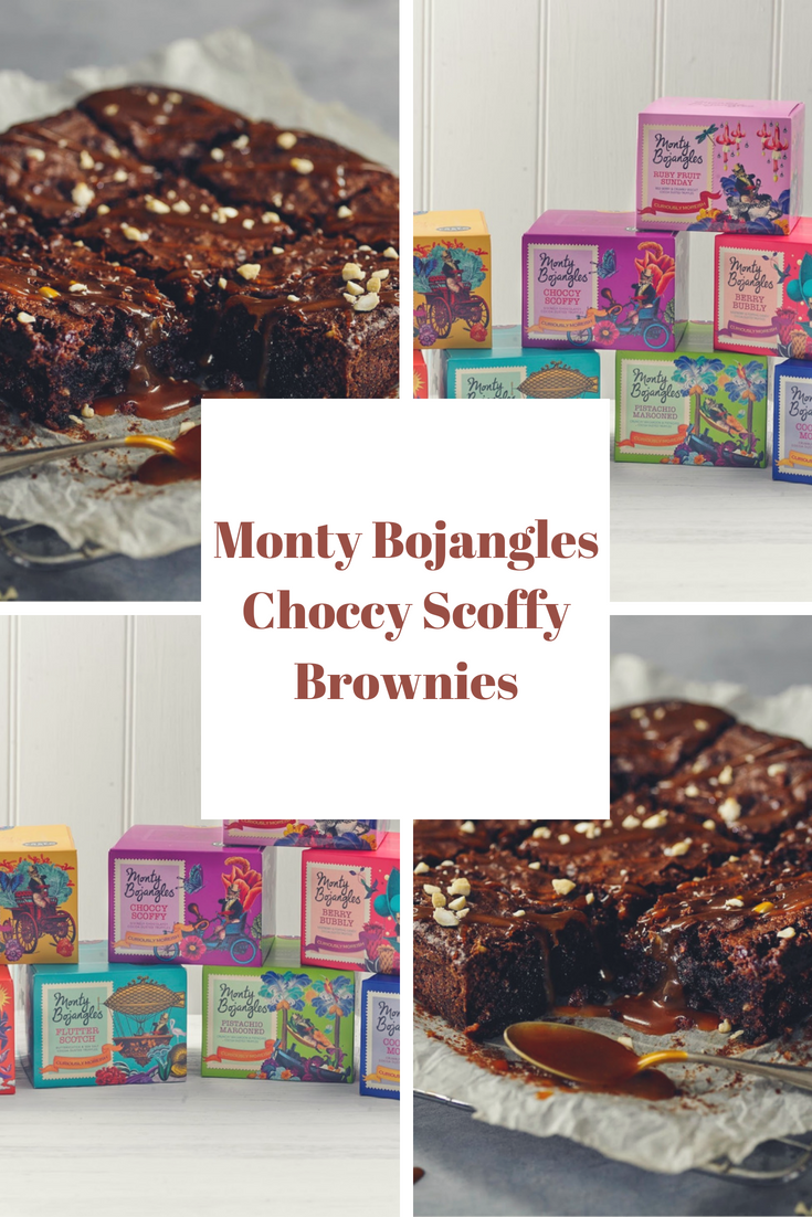 Monty Bojangles Choccy Scoffy Brownies
