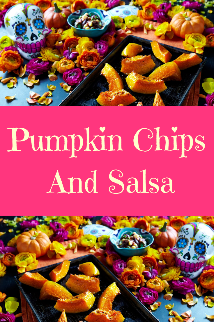 Pumpkin Chips & Salsa.