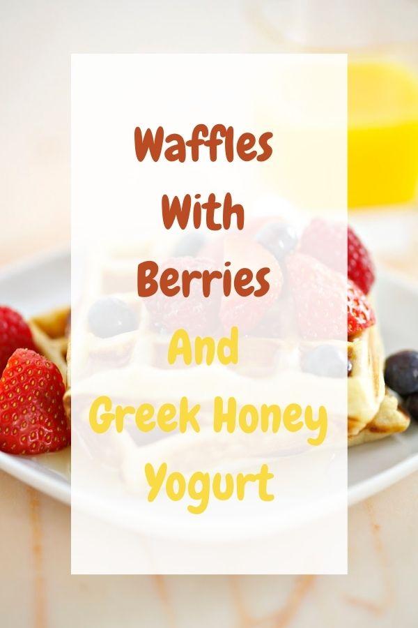 Greek Honey Yogurt.