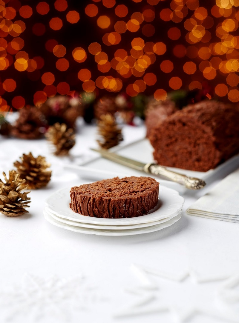 Delicious Yule Log Dairy And Gluten Free: