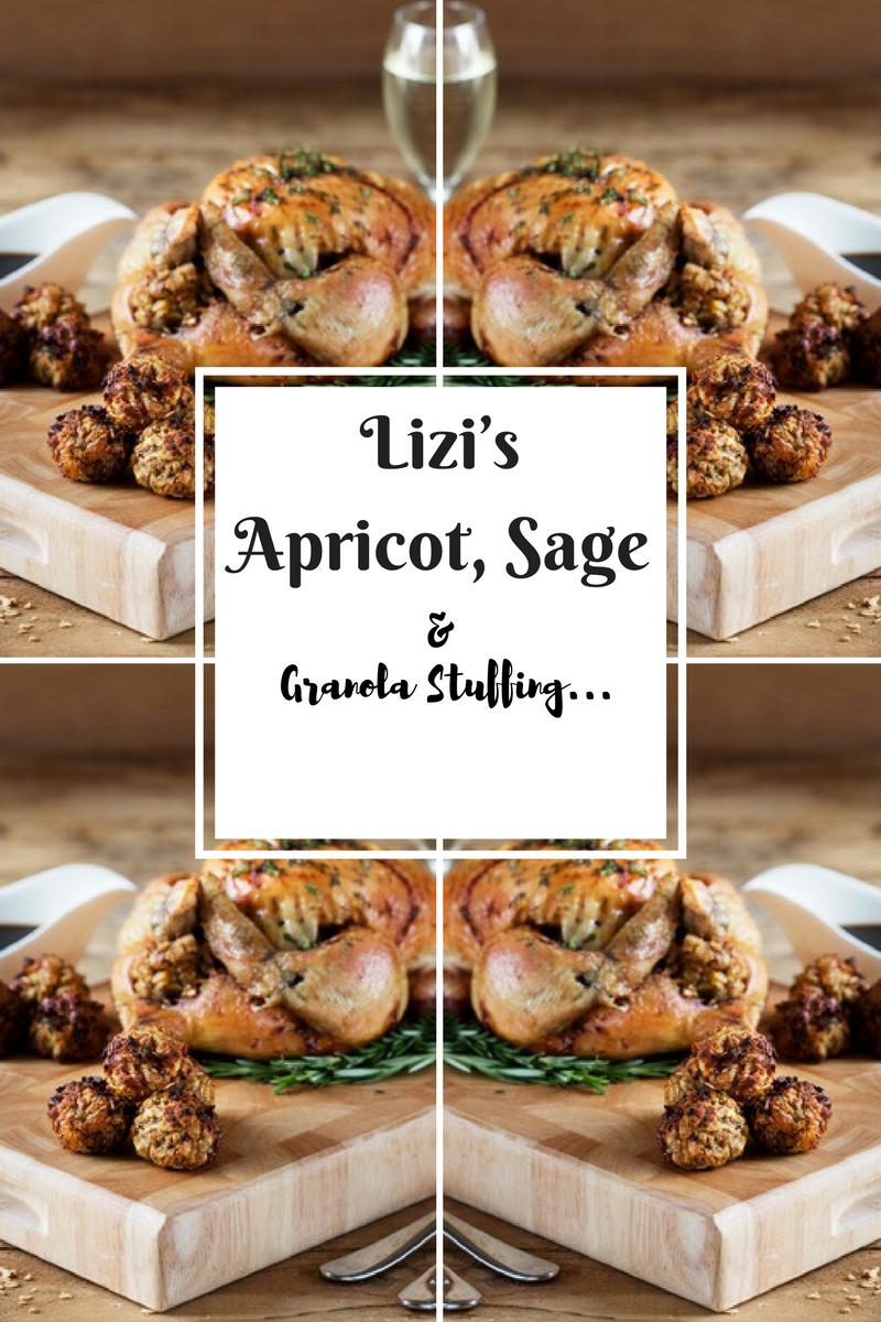 Lizi's Apricot, Sage & Granola Stuffing: Side Dishes
