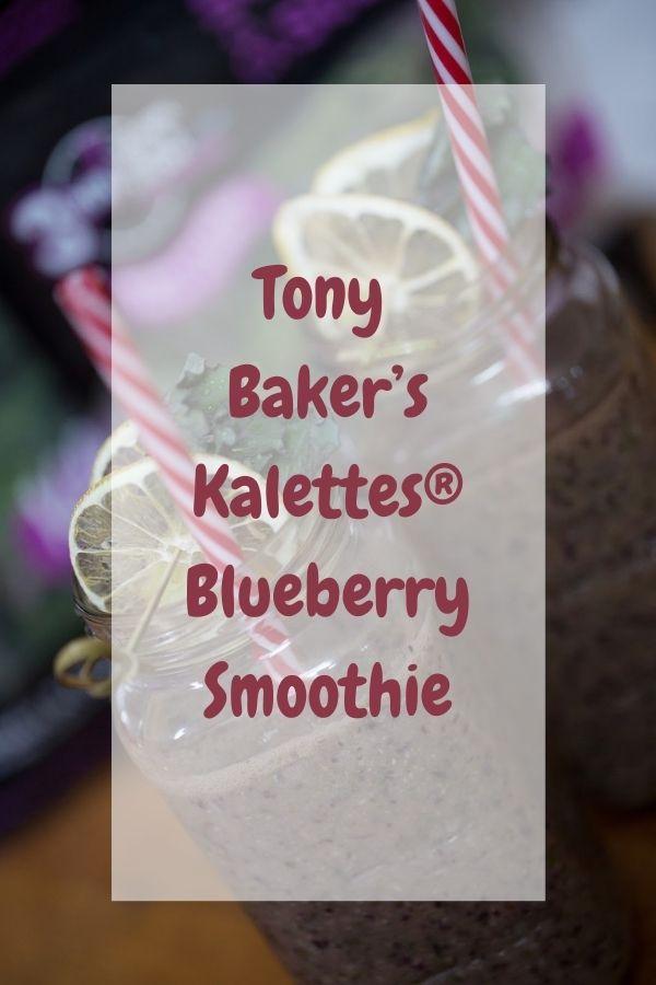 Tony Baker's Kalettes® Blueberry Smoothie