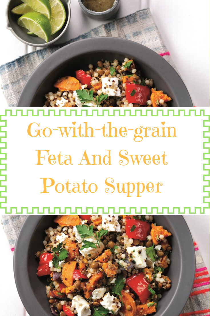 Go-with-the-grain Feta And Sweet Potato Supper