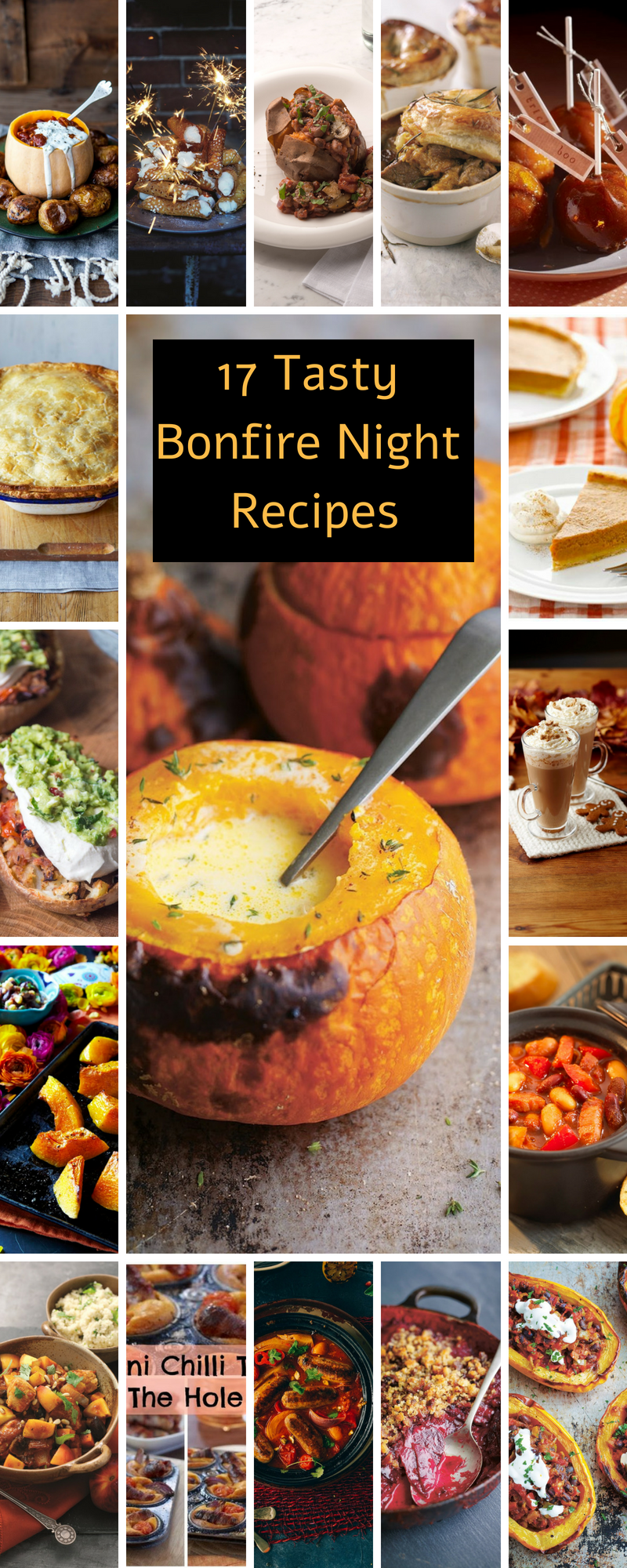 17 Tasty Bonfire Night Recipes