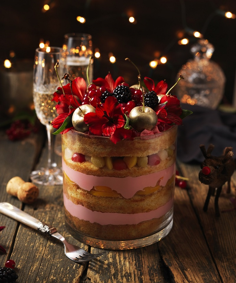 Lily Vanilli's Festive Trifle: Perfect For Christmas
