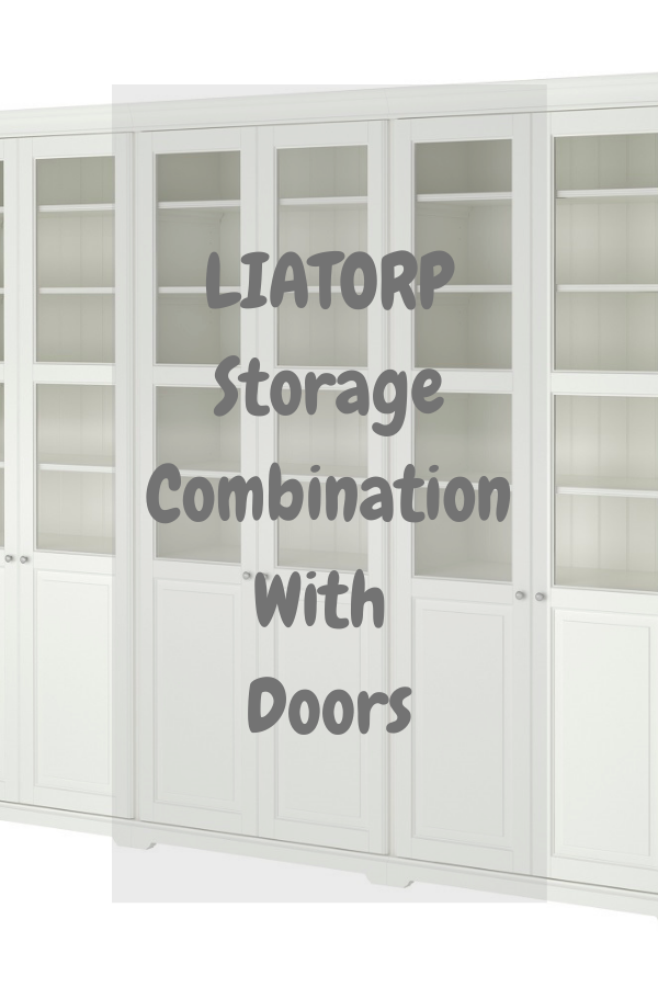 LIATORP Storage Combination With Doors.