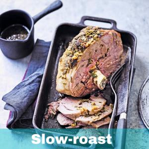 Slow-roast Lamb With Garlic, Honey And Cumin