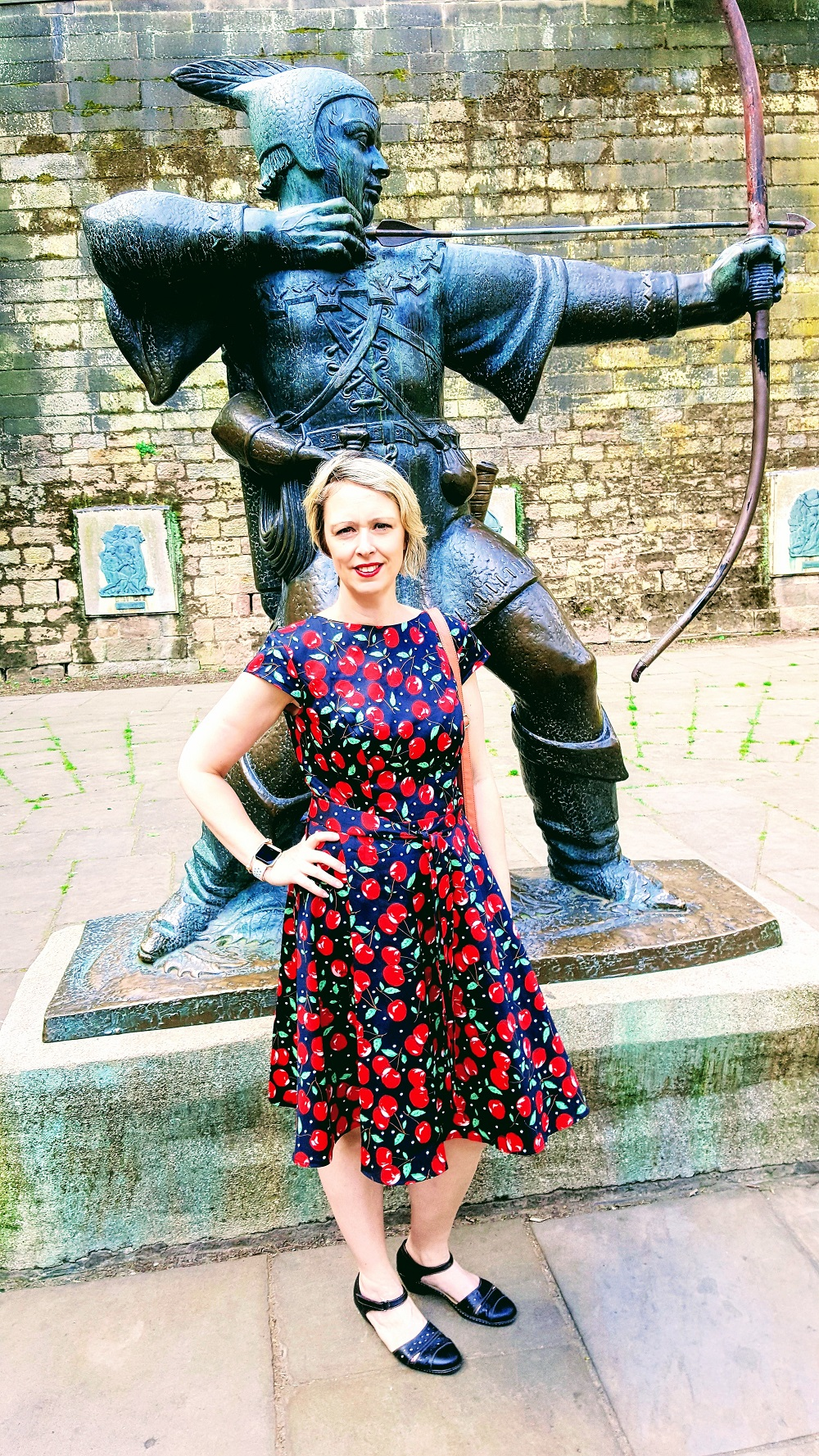 Outfit Of The Day: What I Wore: Nottingham Castle