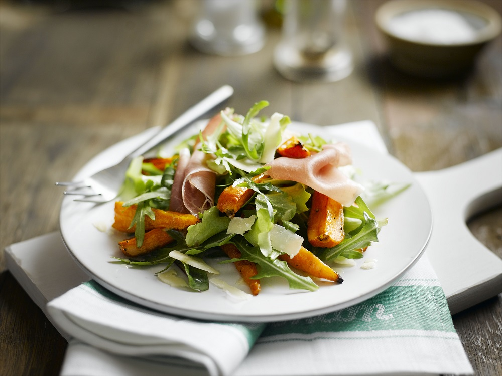 Chantenay Prosciutto And Rocket Salad