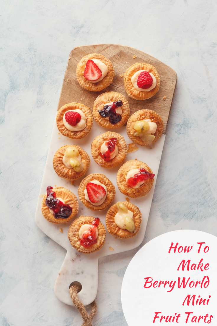 How To Make BerryWorld Mini Fruit Tarts
