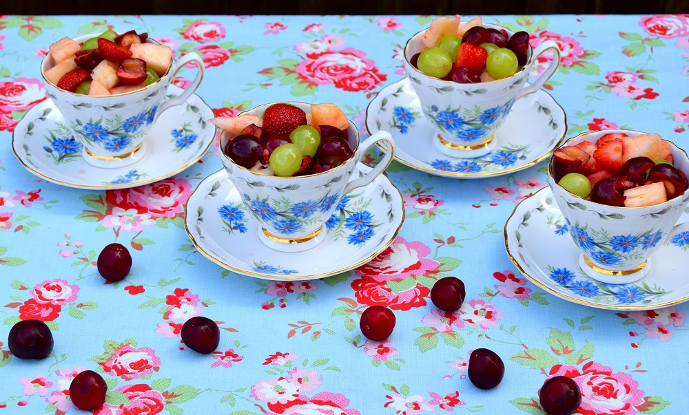 How To Use Jerte Picota Cherries At A Garden Party