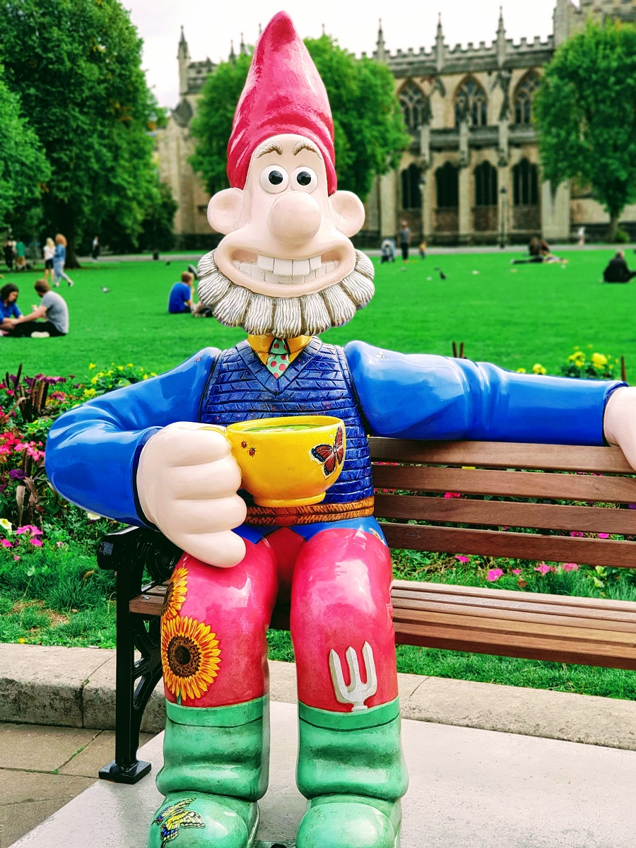 Gnome Sweet Gnome Wallace.