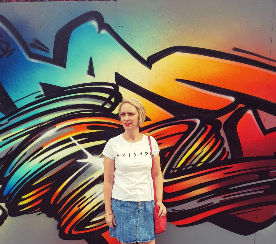 Graffiti And A OOTD