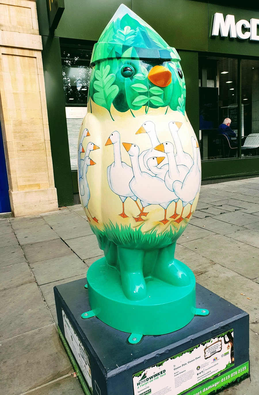 Goose Fair, Goose Fowl #Hoodwinked2018 #CreativeMondays
