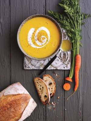 How To Make Spiced Carrot And Ginger Soup