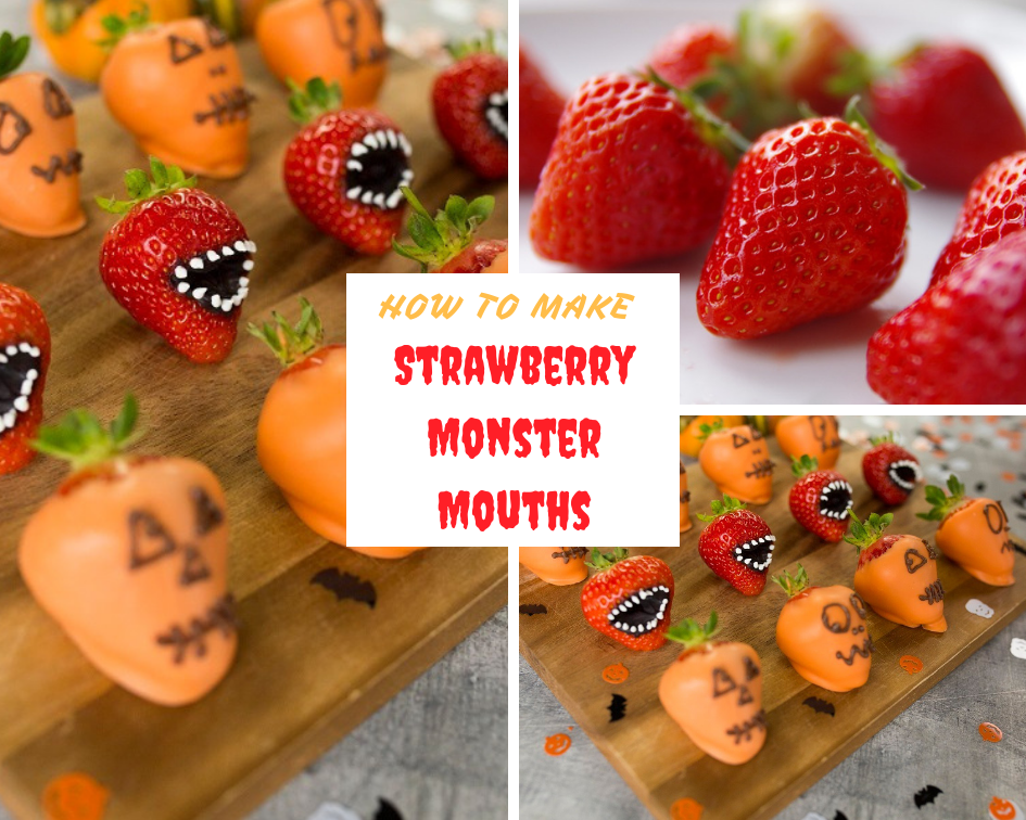 Strawberry Monster Mouths