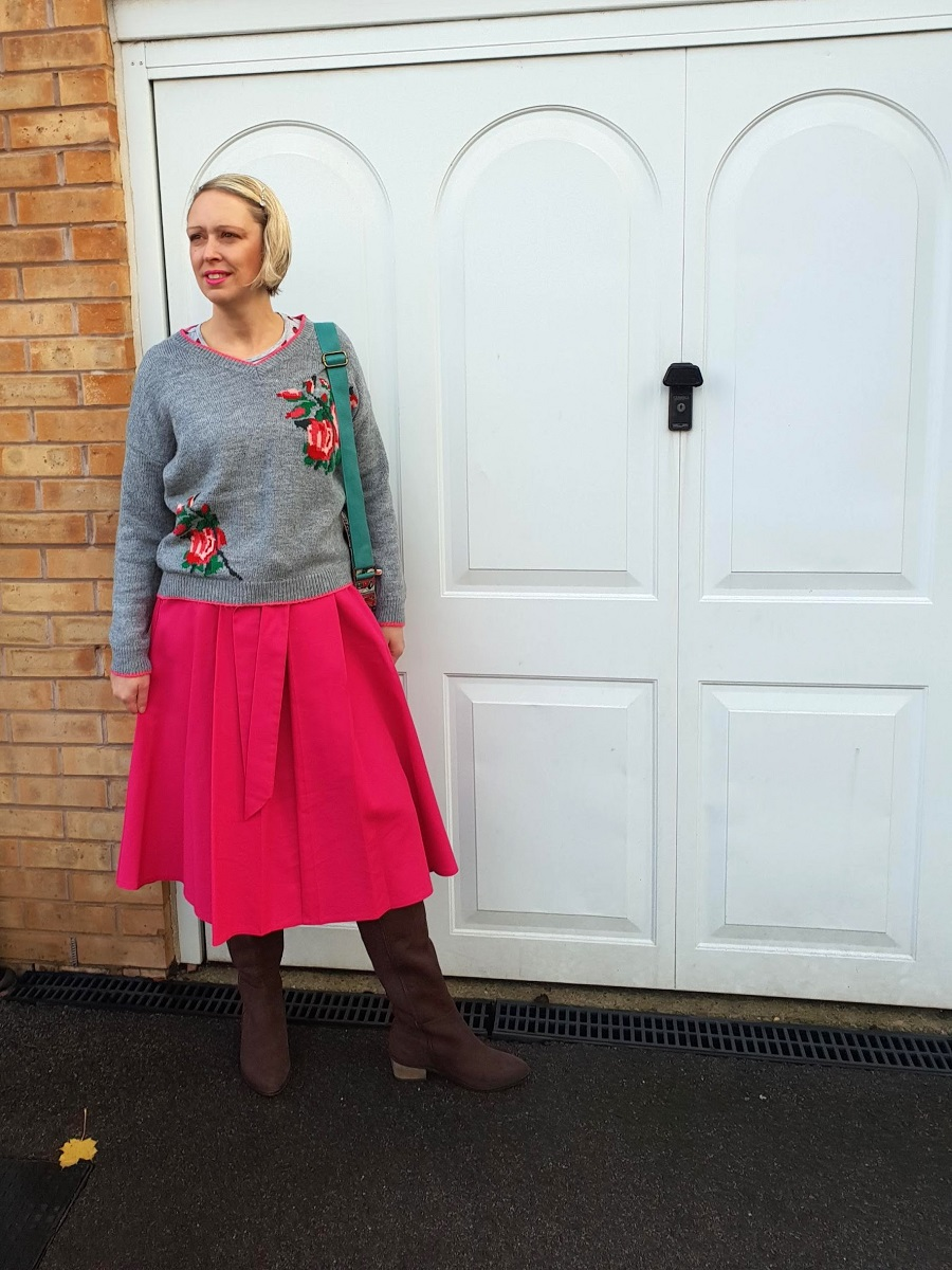Rose Inspired Outfit: Over 40 Fashion #LinkUp