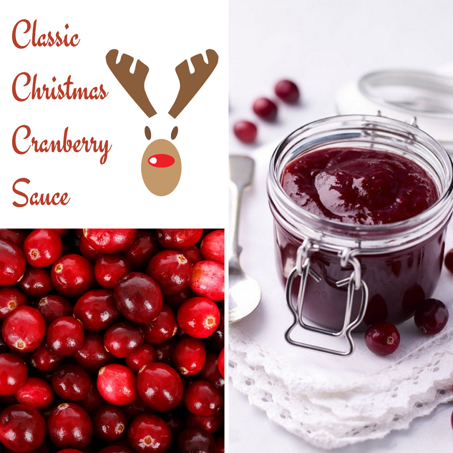 Classic Christmas Cranberry Sauce