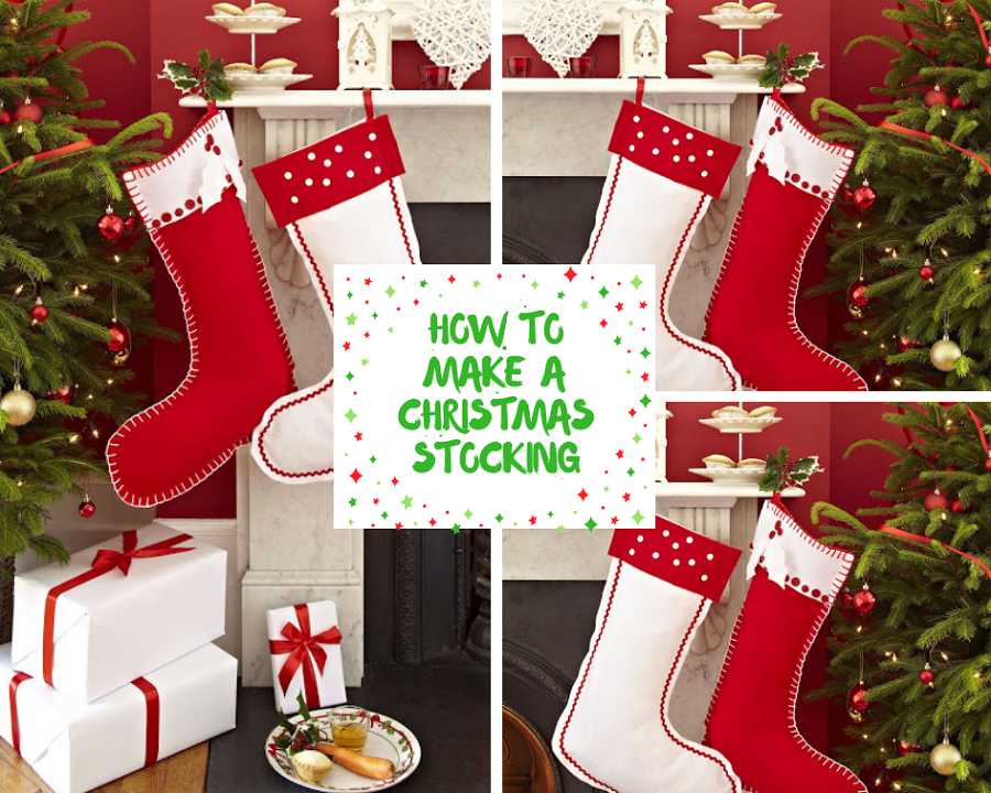 How To Make A Christmas Stocking.