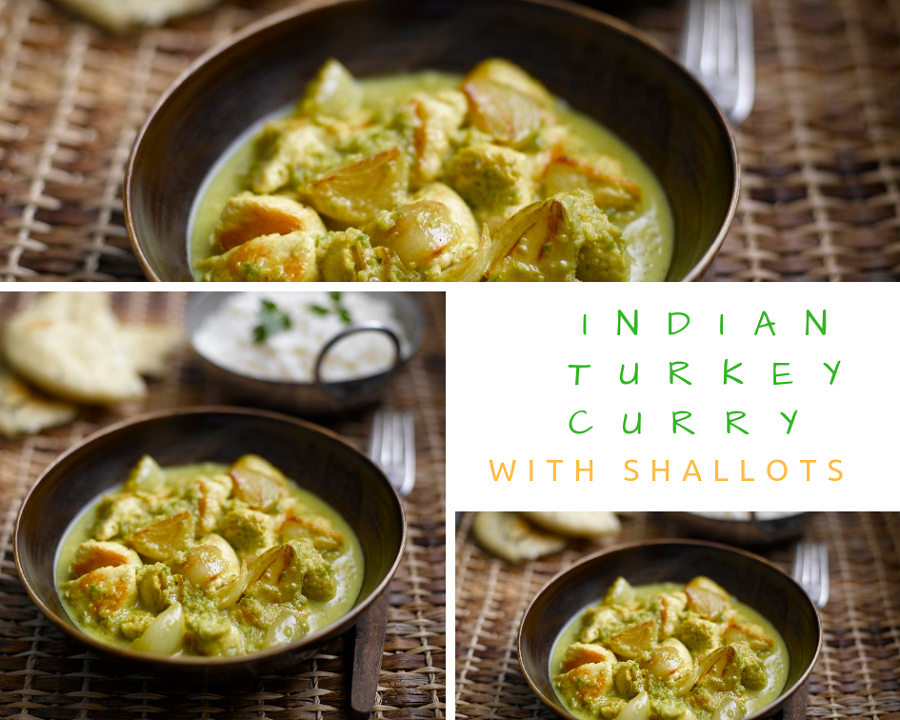 Indian Turkey Curry With Shallots
