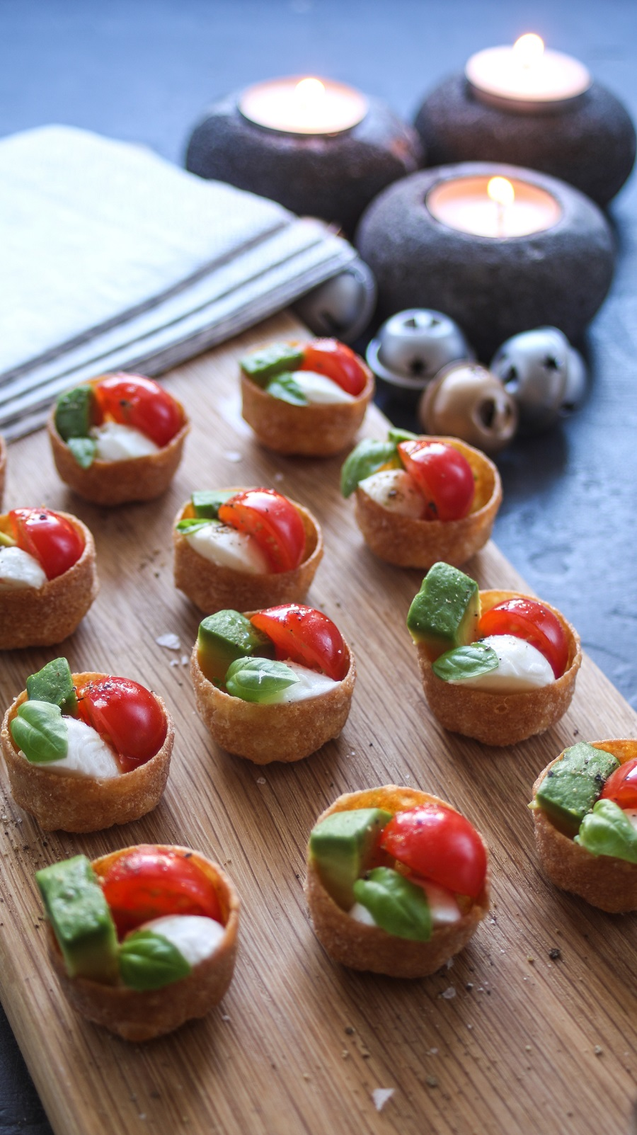 Isle Of Wight Cherry Tomato Canapés