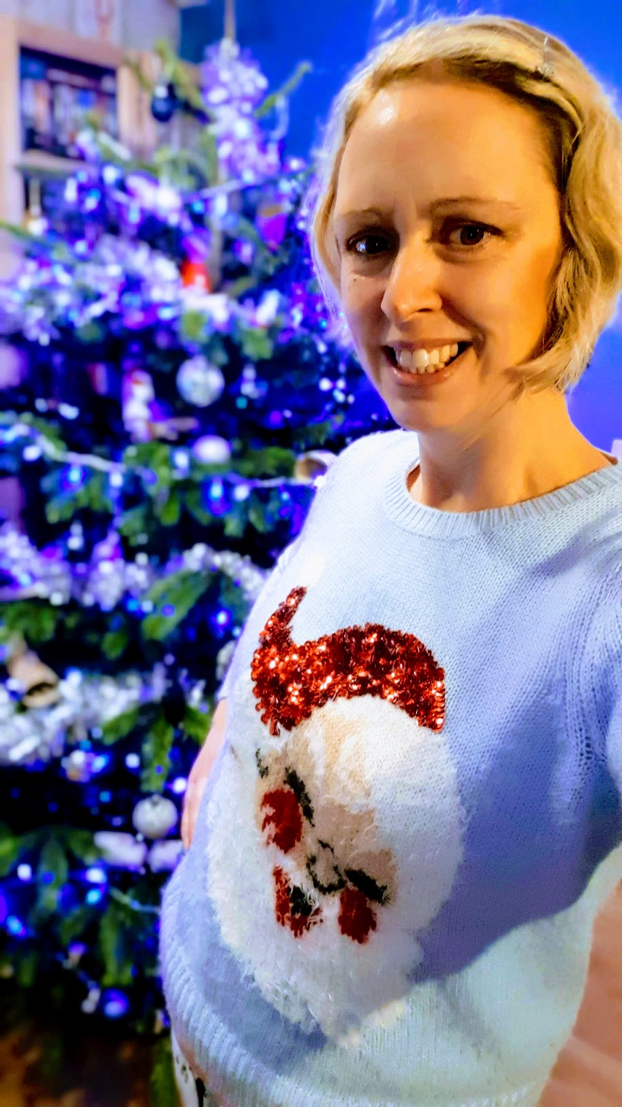 Christmas Jumper Selfies