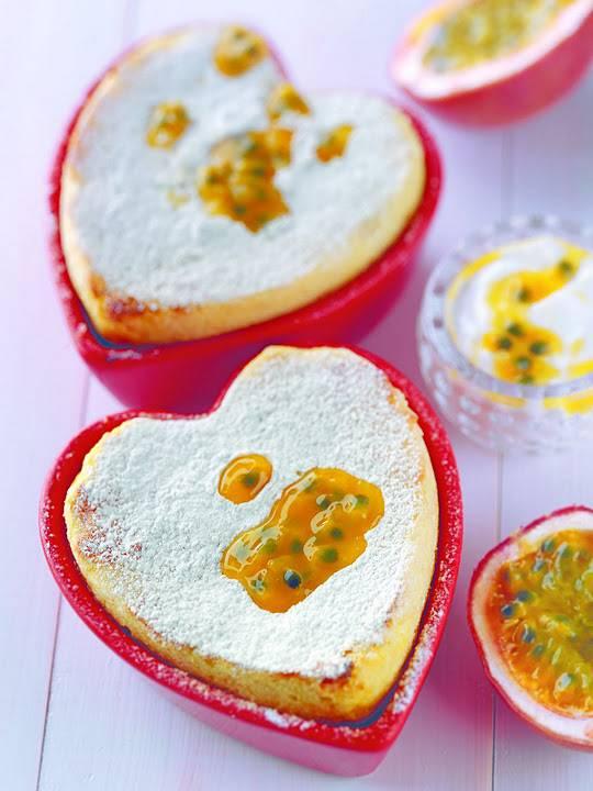 Pink Grapefruit And Greek Yoghurt Soufflé: