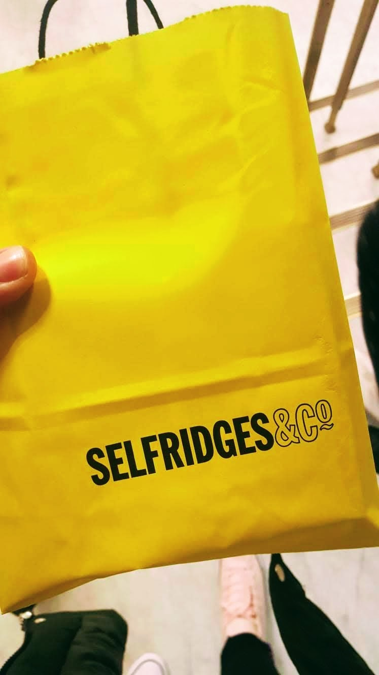 A Trip To Selfridges: Creative Mondays Link Up