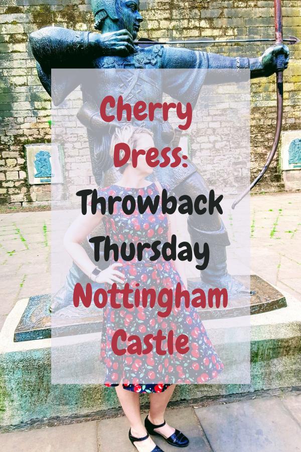 Cherry Dress Throwback Thursday Nottingham Castle