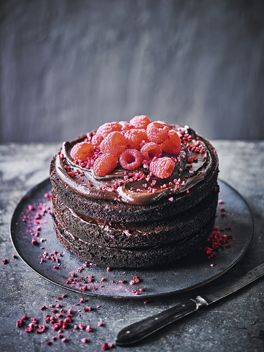 Martha's vegan chocolate cake By Martha Collison