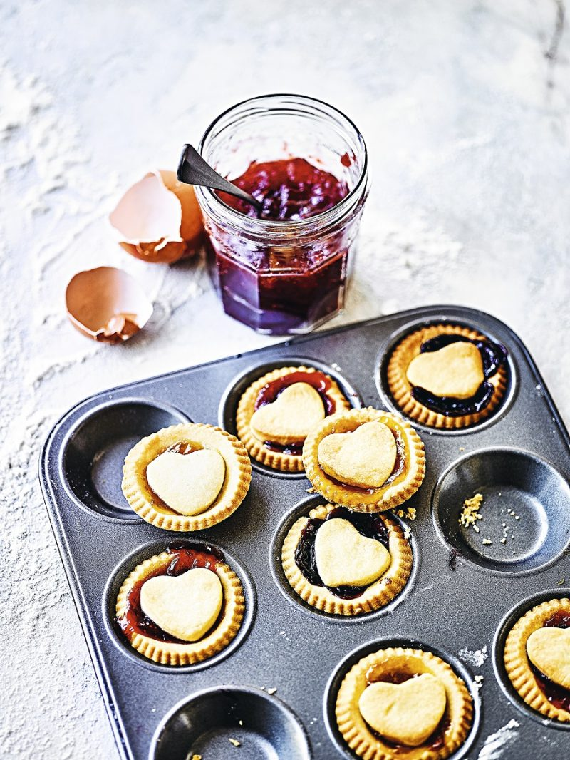 Queen Of Hearts Jam Tarts: Valentine's Day Special
