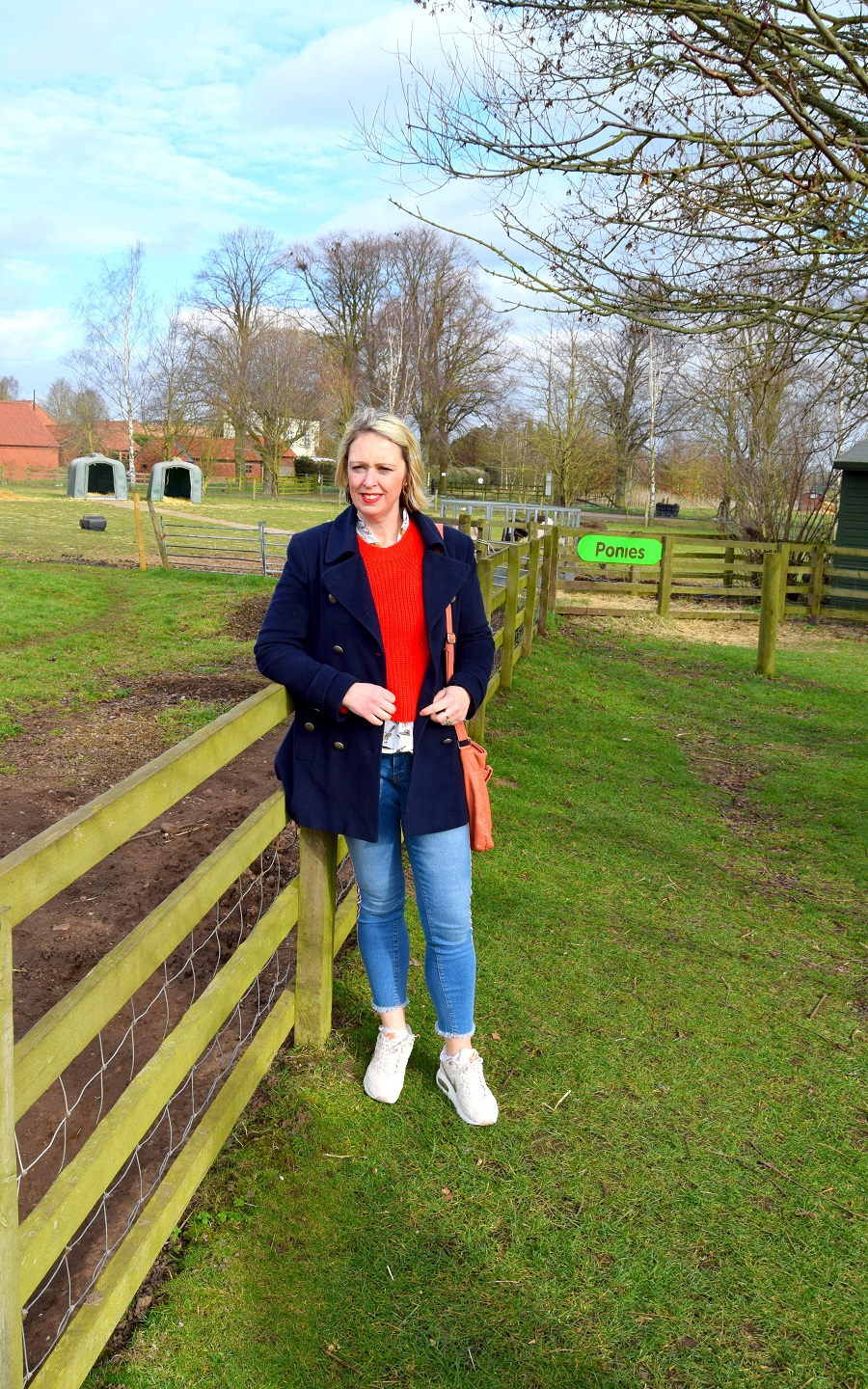 What I Wore To White Post Farm in Nottingham
