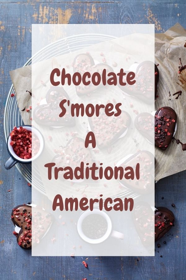 Chocolate S'mores A Traditional American