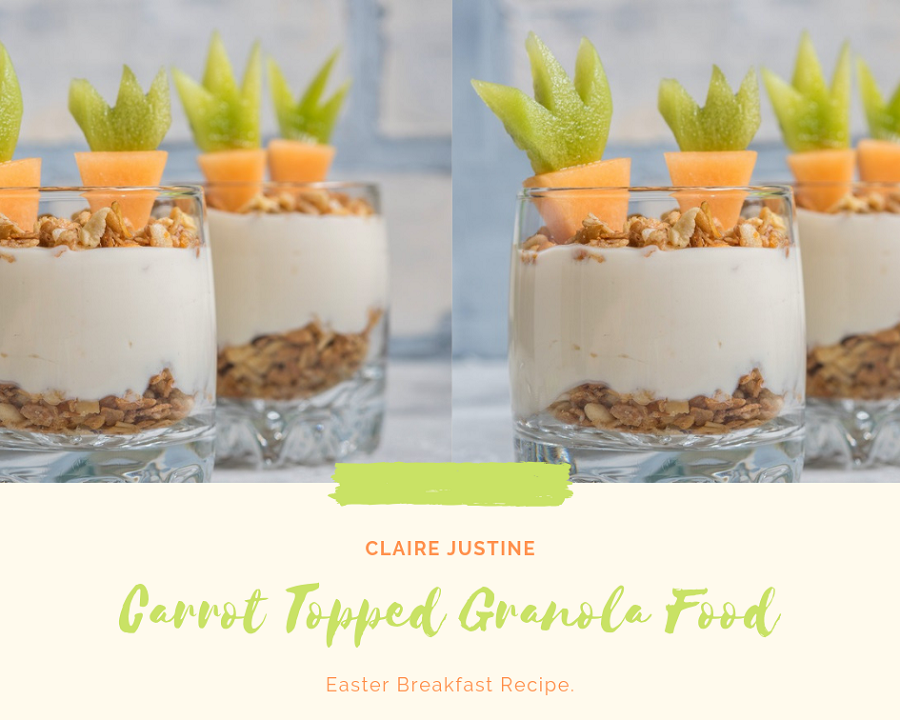 Carrot Topped Granola Food