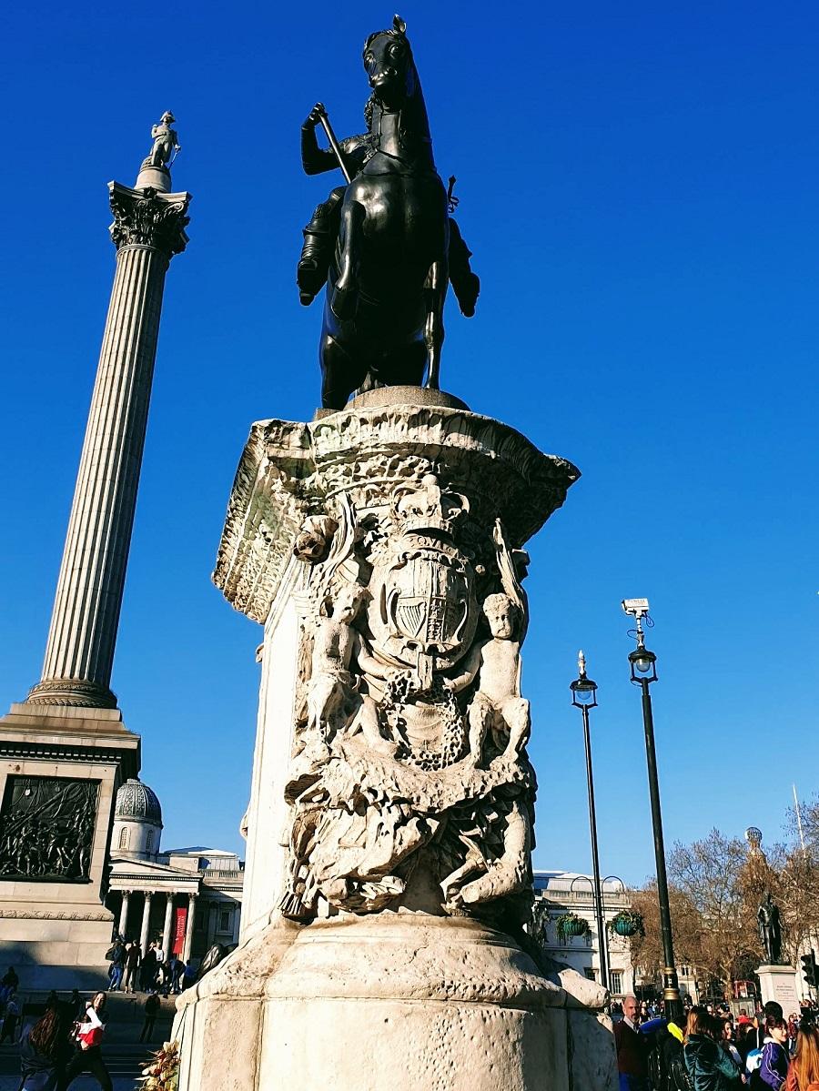 London Travel: Trafalgar Square With Family #LinkUp