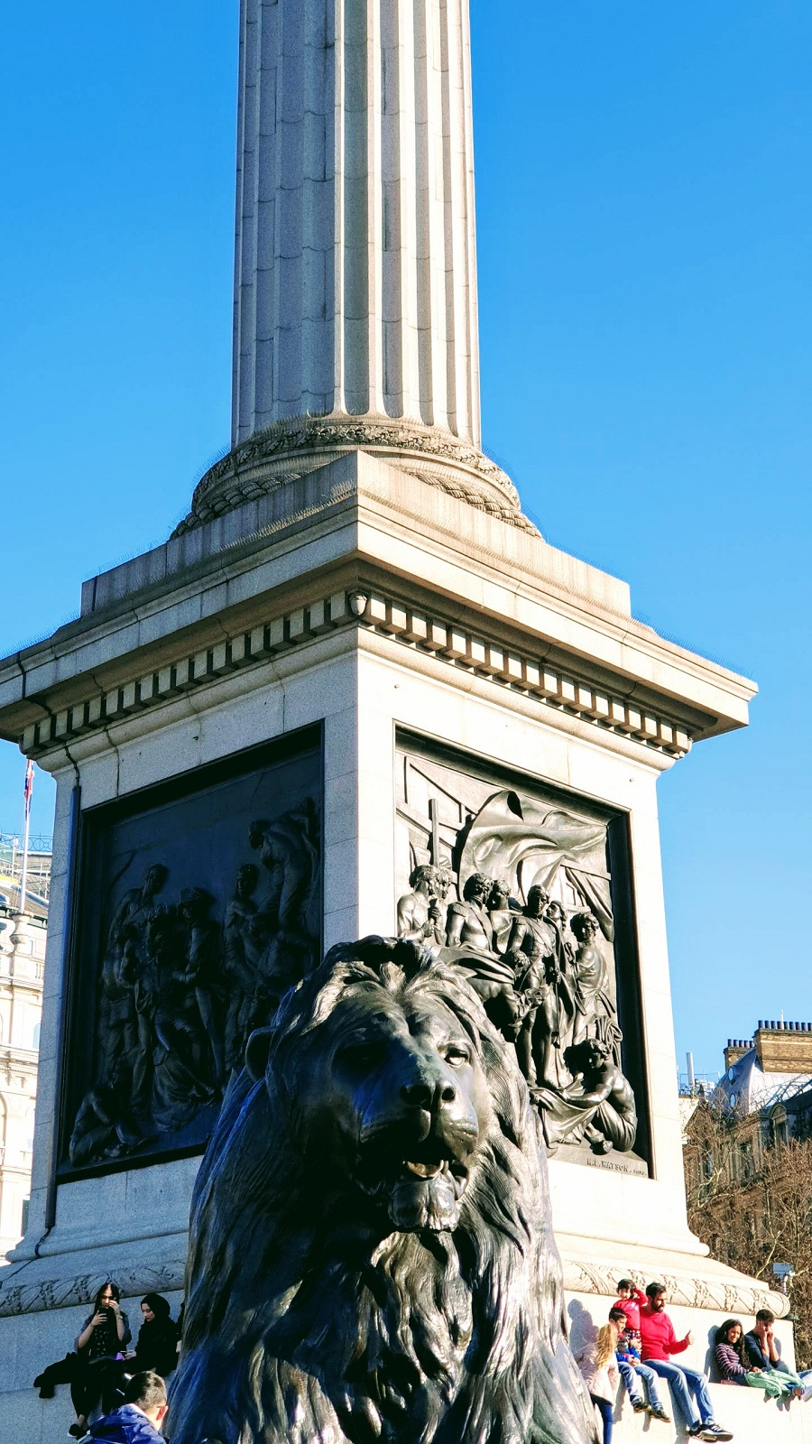 London Travel: Trafalgar Square With Family #LinkUp
