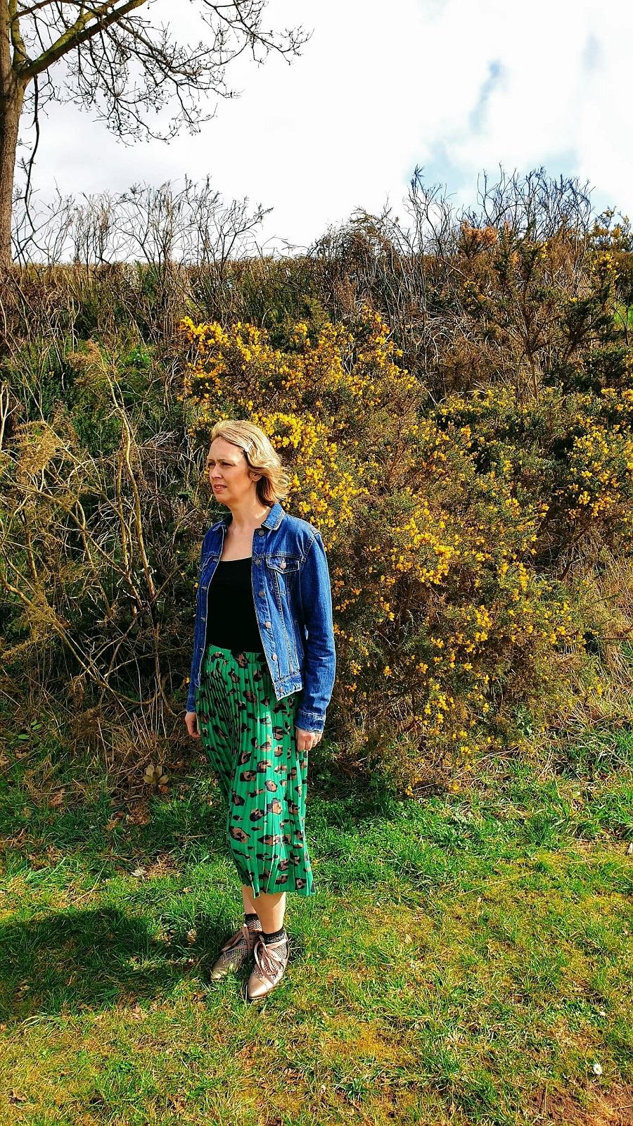 Denim Jacket Out For Spring: Creative Mondays Link Up