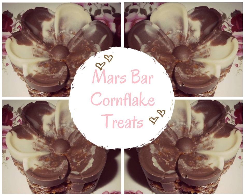 Mars Bar cornflake treats