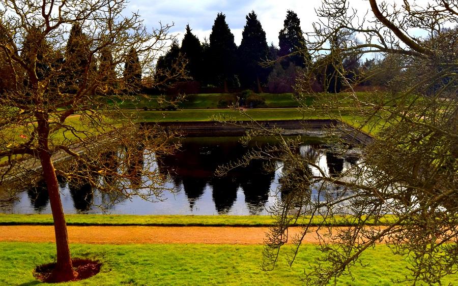 Newstead Abbey: Rose Garden Fountain