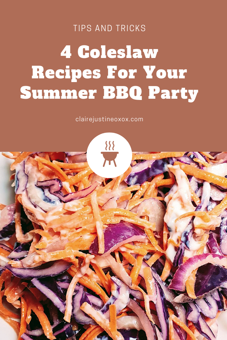4 Coleslaw Recipes For Your Summer BBQ Party.
